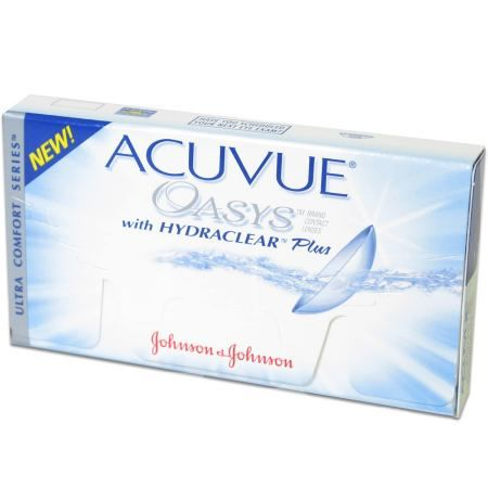 Acuvue Oasys with Hydraclear Plus - 630 руб.